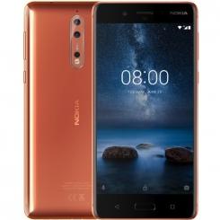 ремонт Nokia 8, замена стекла, замена экрана
