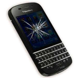 Замена стекла Blackberry Q10