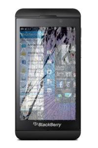 Замена стекла Blackberry Z10
