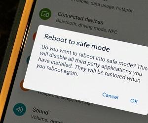 Как на телефоне с Андроид отключить безопасный режим?
