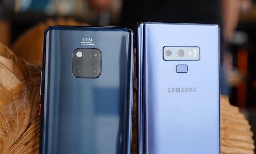 Сравнение Huawei Mate 20 Pro и Samsung Galaxy Note 9