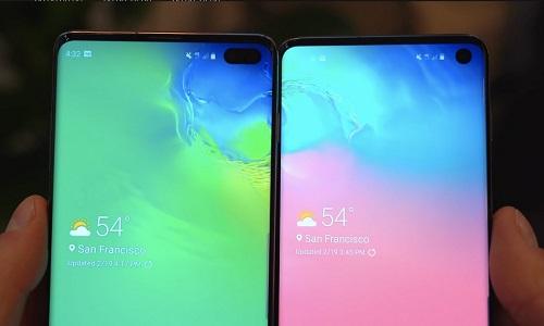 Сравнение Samsung Galaxy S10 и Samsung Galaxy S10 Plus