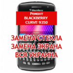 ремонт BlackBerry Curve 9350 замена стекла и экрана