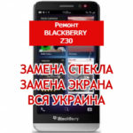 ремонт BlackBerry Z30 замена стекла и экрана