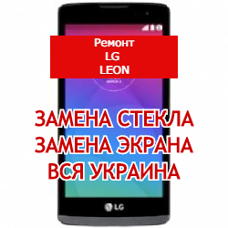 ремонт LG Leon замена стекла и экрана