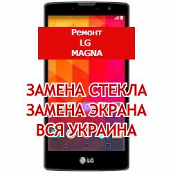 ремонт LG Magna замена стекла и экрана