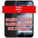 ремонт Nokia 4.2 замена стекла и экрана