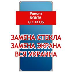 ремонт Nokia 8.1. Plus замена стекла и экрана