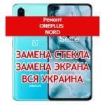 ремонт OnePlus Nord замена стекла и экрана