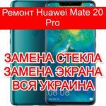 Ремонт Huawei Mate 20 Pro замена стекла и экрана