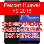 Ремонт Huawei Y9 2018 замена стекла и экрана