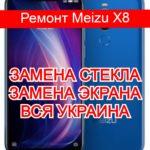 Ремонт Meizu X8 замена стекла и экрана