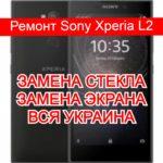 Ремонт Sony Xperia L2 замена стекла и экрана