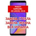 ремонт Samsung A9 (A920) 2018 замена стекла и экрана