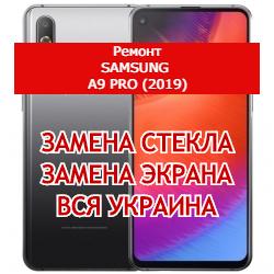 ремонт Samsung A9 Pro (2019) замена стекла и экрана