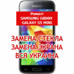 ремонт Samsung G800H Galaxy S5 mini замена стекла и экрана