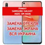 ремонт Samsung Galaxy A60s SM-A606 замена стекла и экрана