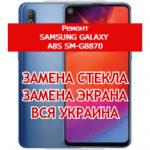 ремонт Samsung Galaxy A8s SM-G8870 замена стекла и экрана