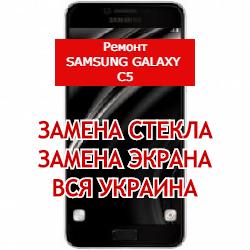 ремонт Samsung Galaxy C5 замена стекла и экрана