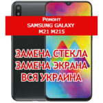 ремонт Samsung Galaxy M21 M215 замена стекла и экрана