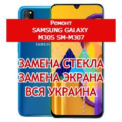 ремонт Samsung Galaxy M30s SM-M307 замена стекла и экрана