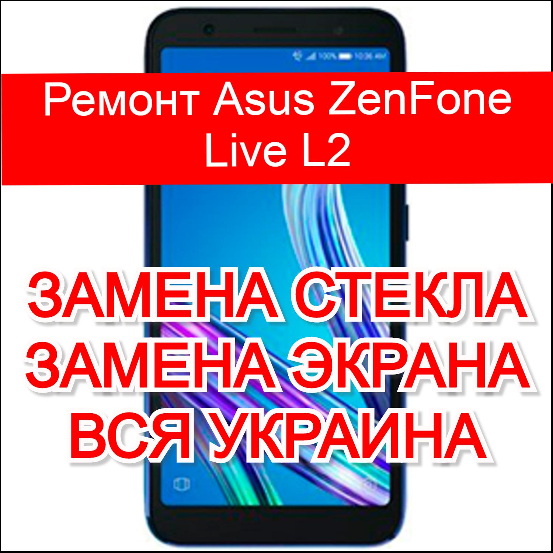 ремонт Asus ZenFone Live L2 замена стекла и экрана