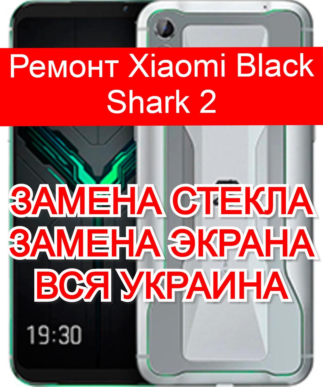 ремонт Xiaomi Black Shark 2 замена стекла и экрана