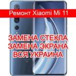 ремонт Xiaomi Mi 11 замена стекла и экрана
