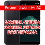 ремонт Xiaomi Mi A2 замена стекла и экрана