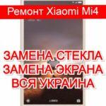 ремонт Xiaomi Mi4 замена стекла и экрана