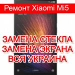 ремонт Xiaomi Mi5 замена стекла и экрана