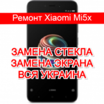 ремонт Xiaomi Mi5x замена стекла и экрана