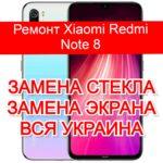 remont Xiaomi Redmi Note 8 zamena ekrana zamena stekla
