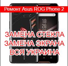 Ремонт Asus ROG Phone 2 замена стекла и экрана