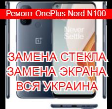 Ремонт OnePlus Nord N100 замена стекла и экрана