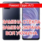 Ремонт Oppo A73 замена стекла и экрана