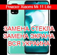 Ремонт Xiaomi Mi 11 Lite замена стекла и экрана