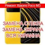 Ремонт Xiaomi Poco M3 замена стекла и экрана