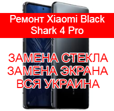 Ремонт Xiaomi Black Shark 4 Pro замена стекла и экрана