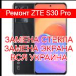 Ремонт ZTE S30 Pro замена стекла и экрана